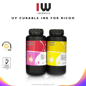 The best quality Universal Hard LED UV Ink For Epson R1800 R1900 R2000 R3000 UV