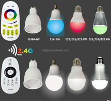 mi light 9W night club light RGB led disco bulb lamp,led full color change lamp,Disco RGB led light