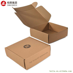 Wholesale Custom Small Design Print Packaging Cardboard Corrugate Paper Carton Box Package Empty Boxes With Printing Logo