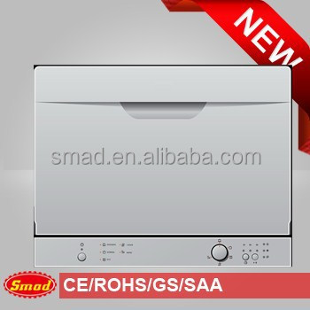 6 sets tabletop dishwasher 3210A with drawer design