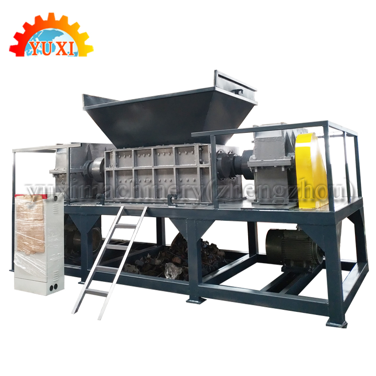 China Zip-Top Can Oil Filter Shredder Scrap Iron Crusher For Crushing Iron Sheet