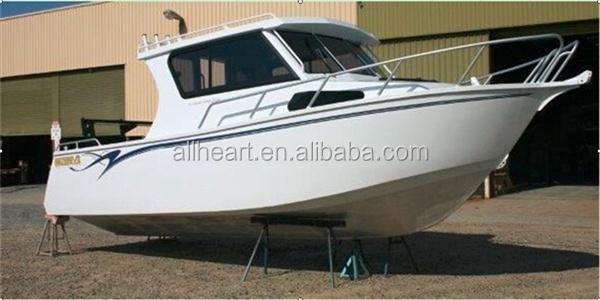 Hot sale 25ft cuddy cabin aluminum boat for fishing buy for Aluminum boat with cabin for sale