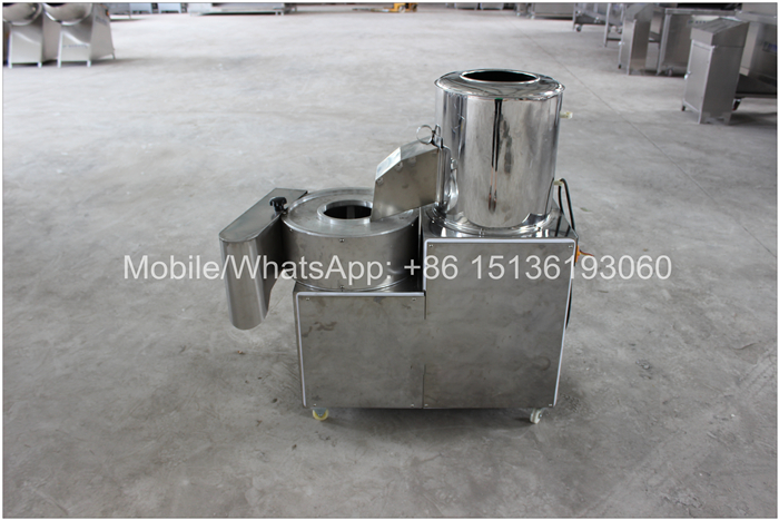 Stainless steel 300kg/h twisted chips potato cutter