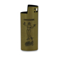 Metal disposable lighters cases with custom logo,wholesale cheap lighter sleeve