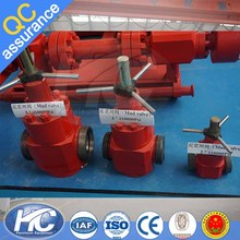 Different types cast iron gate valve/ ductile iron gate valve/ tight emergency shut off valve from China