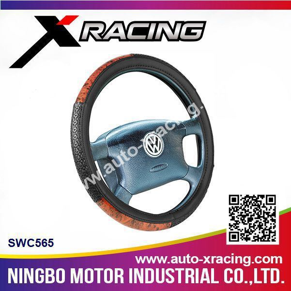 Xracing-SWC565 shrink steering wheel cover,shrink car steering wheel covers,leather sewing steering wheel cover