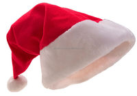 2017 Unique hot sale product handmade wholesale China decor blue craft ornament wool felt santa clause Christmas hats with light