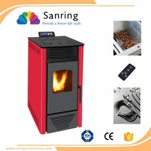 Innovation design/secondary combustion cast iron wood pellet pellet stove