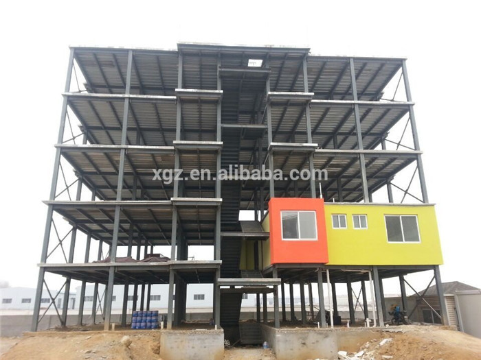 Steel Frame Multi Story Prefabricated Hotel Building Buy