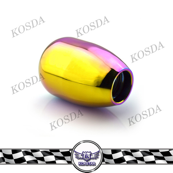 auto parts pink gear shift knob ,neo chrome gear stick knob