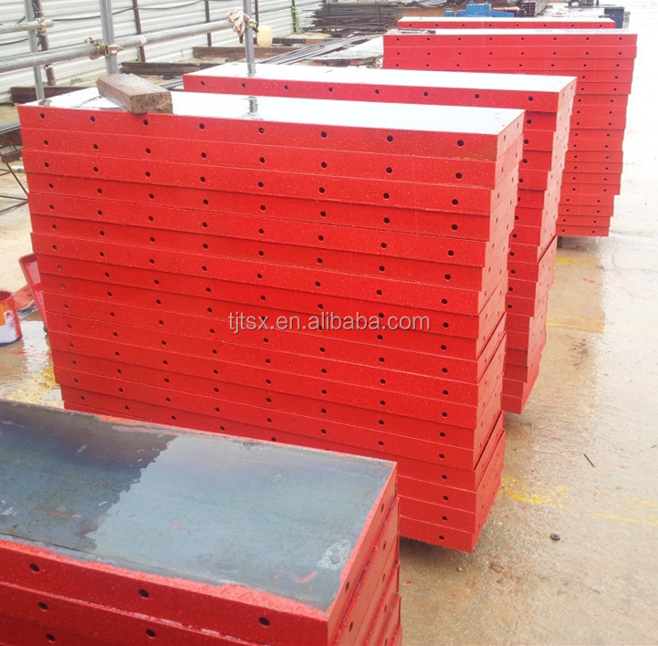 2016 new Metal concrete replace traditional circular plywood formwork