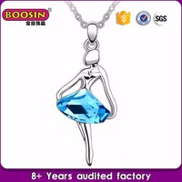 Guangzhou factory wholesale gemstone charm dancing cz stone jewelry