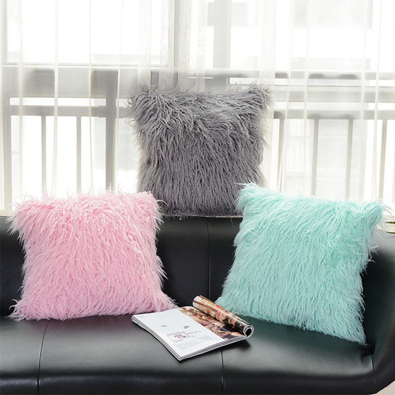 High Quality Fluffy Plush Pillow (2)