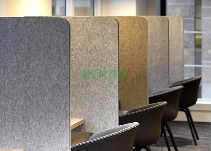 High Density Sound Absorbing Wall Light Acoustic Polyester