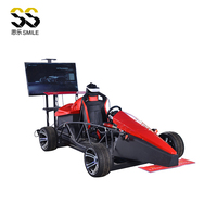 2018 new product Amazing luxury electric car VR Racing game exciting electric super car children