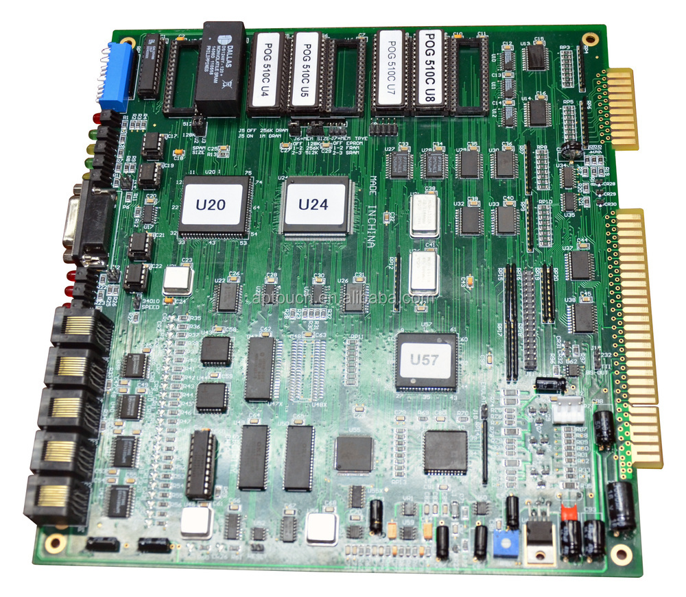 Pot O Gold Pcb Game Board Buy Wms Product On In Circuit Boards