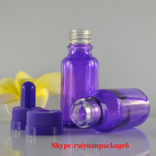 30ml Shiny Purple Perfume Glass Bottles 20ml Ejuice Glass Bottles 10ml Eliquid Bottle In Stock