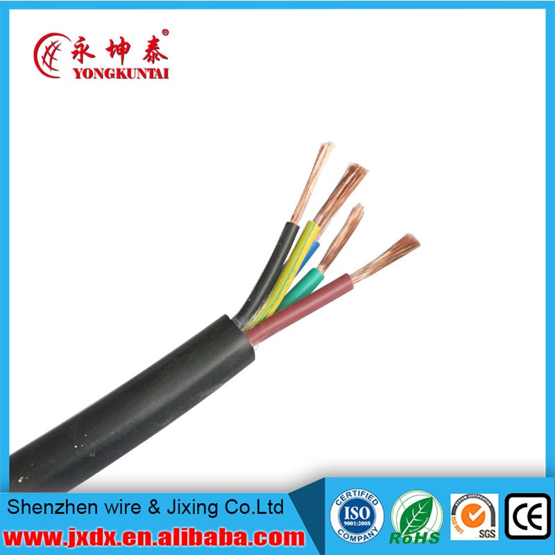 Rvv 3 Core 0.5mm/0.75mm/1mm/1.5mm Flexible Multi Conductor Cable ...