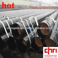 Q235 Q345 Astm A53 Erw Black Welded Steel Pipe,Od:8'',Wt:sch40 ...