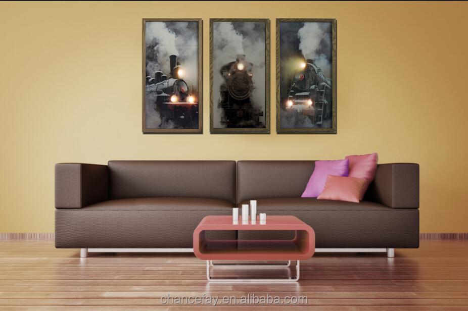 Woonkamer Met Kunst : Leds led led led wall prints muur decor kunst moderne kunst aan de