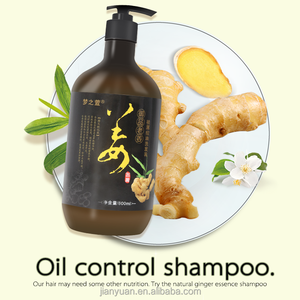 2018 Hot Selling Professional Daily Use Ginger Oil Hair Refresh Hair Shampoo