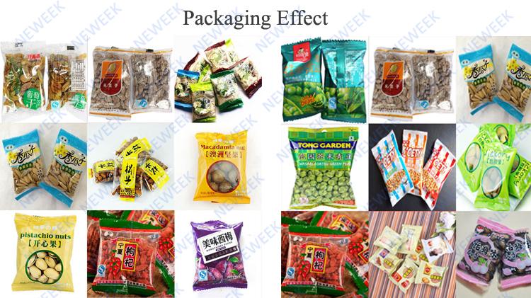 NEWEEK automatic quantitative salt peanut spice packaging machine