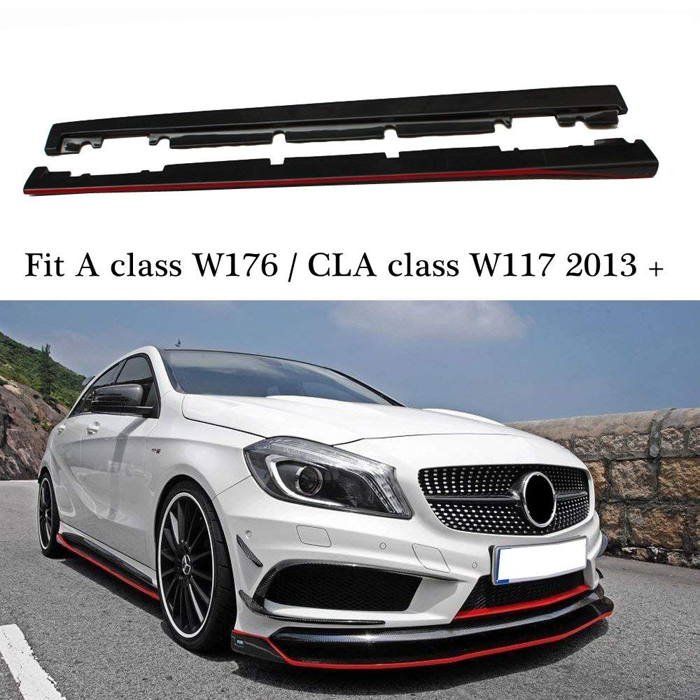 For CLA45 AMG 14-16 Textured Front License Plate Bracket