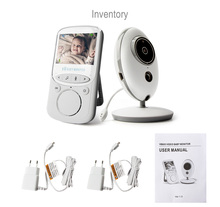 2.4G Senza Fili 2 <span class=keywords><strong>Audio</strong></span> Bidirezionale di Colloquio Night Vision <span class=keywords><strong>Video</strong></span> Nanny <span class=keywords><strong>Baby</strong></span> Sitter Del Bambino di Sonno <span class=keywords><strong>monitor</strong></span>