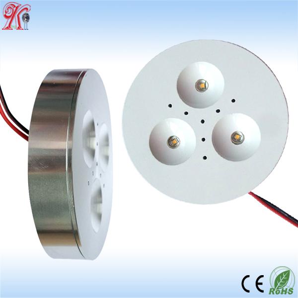 3w Puck Led Light Dimmable 3w Led Cabinet Light 12v