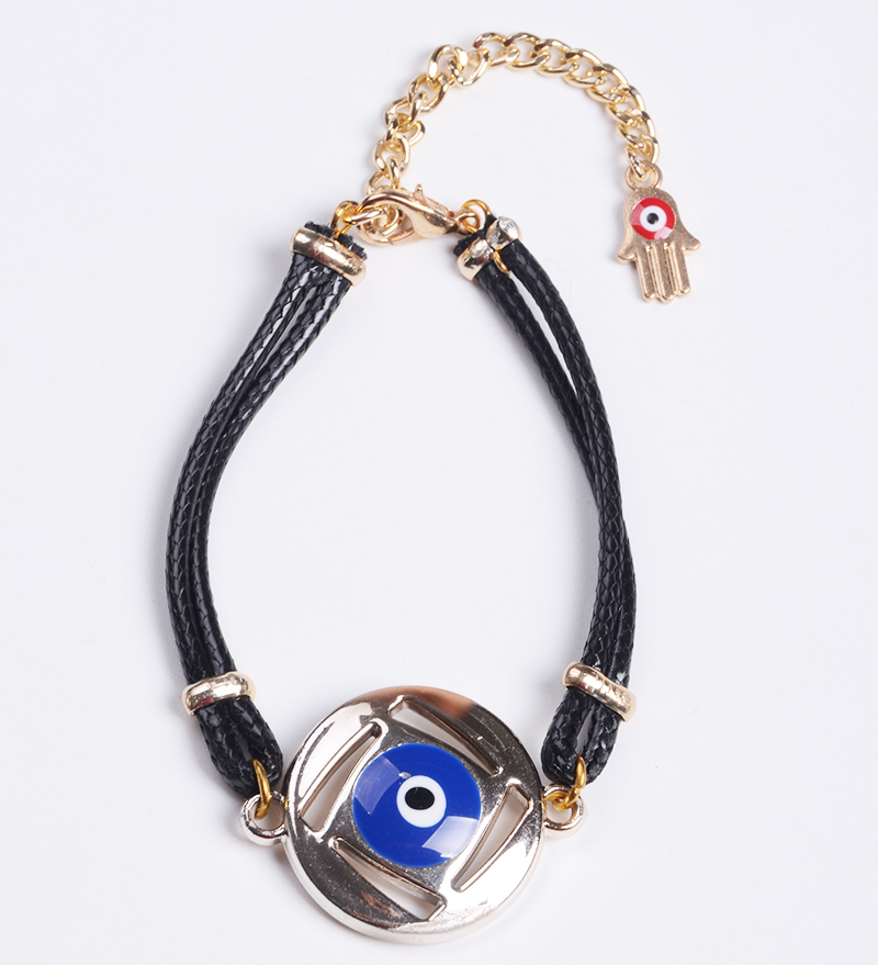 Isalim GIfts Evill Eye Charms Wholesale Cord Bracelet with Evil Eye