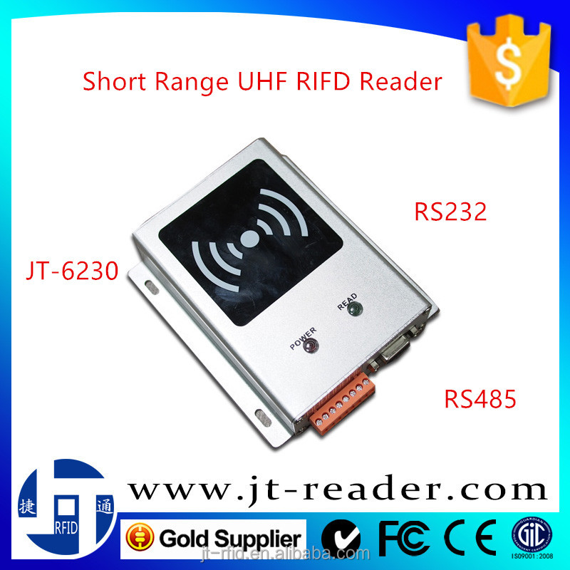 Metal Case Industrial short distance Passive tag UHF RFID Reader for Production Line