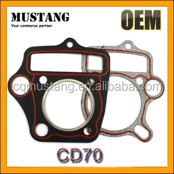 Top Quality Hot Selling Pakistan Market Motorcycle CD70 Paper Gasket