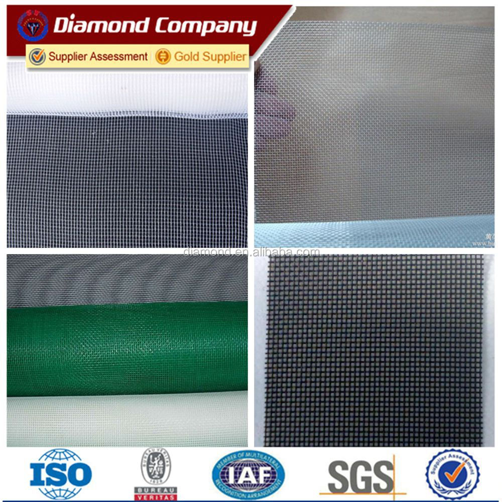 Plastic coated window screen mesh screen window covering for Window mesh screen