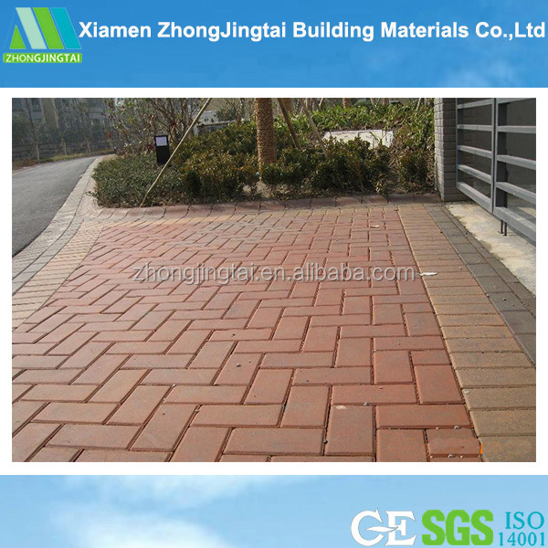 ZJT China supplier of good abrasion resistance landscaping clay paving brick