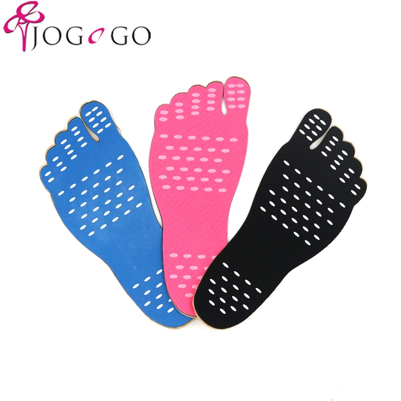 Beach Invisible Shoes Stick on Soles Sticky Pads Foot Protection Feet Sticker WG