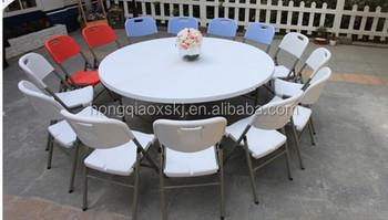 Meter cm grote ronde plastic opvouwbare tafel voor banket en