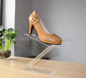 wholesale acrylic shoe stand display