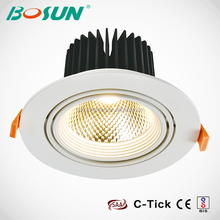 Dali Dimmable Adjustable 360 degree angle COB LED Downlighting 30w