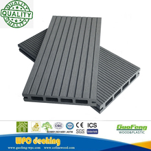 Outdoor Raw Material Anti-uv Wood Plastic Composite Decking Timber Wpc Decking