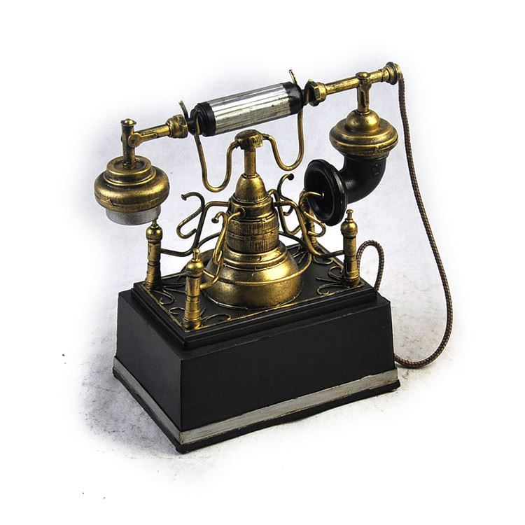 Wholesale Handmade Art Decor Antique Retro Vintage Old Classic Home Phone JLT1296-BK