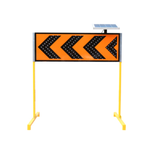 Solar power 1200*400mm multiple arrow guide sign traffic safety sign