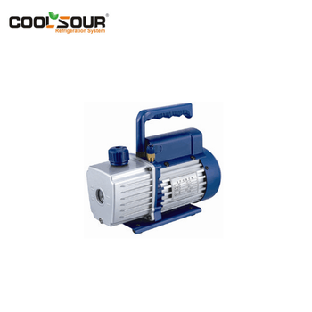 RESOUR Mini Rotary Vane Vacuum Pump, Single Stage & Double Stage