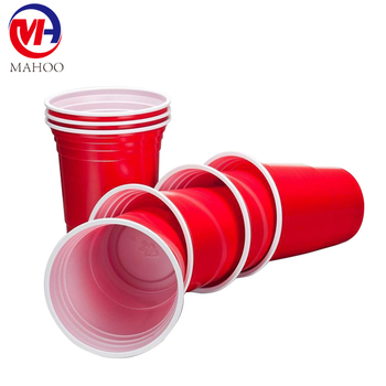 Disposable 16oz Plastic Cup Red Cup / American Red Cups / Party Beer Red  Cups - Buy Disposable Plastic Beer Cups,Beer Pong Cup,Red Plastic Beer Cups