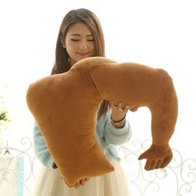 high quality human body shape fashion nap plush pillow