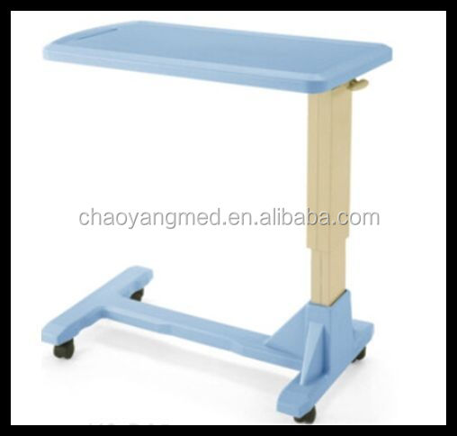 portable dining table for hospital bed/medical used hospital over