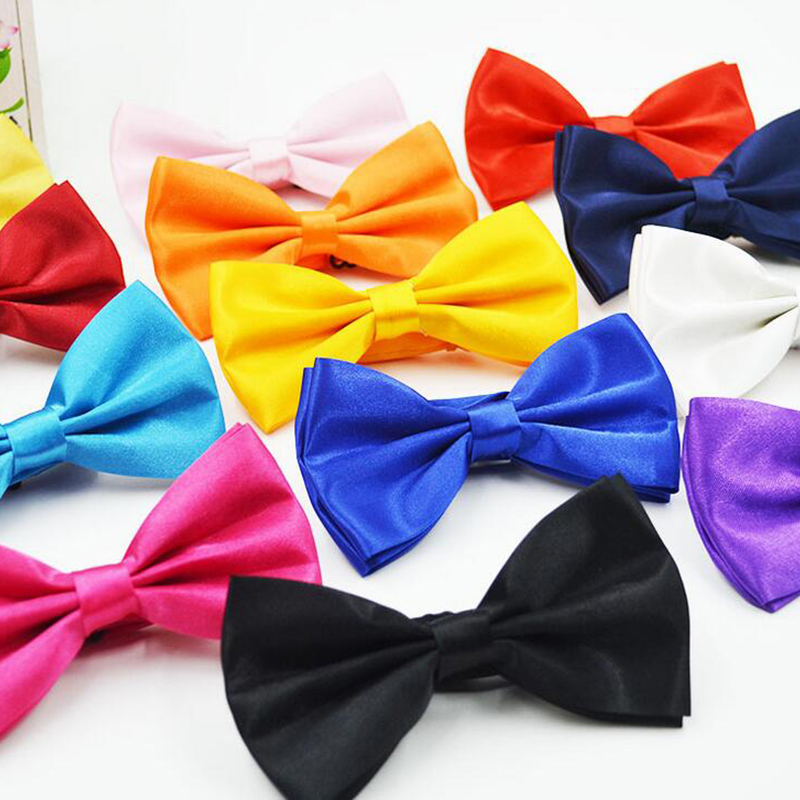 Although black bow ties are the most popular, we carry bow ties in over 60 fabulous colors including black bow ties, blue bow ties, brown bow ties, gold bow ties, green bow ties, grey bow ties, ivory bow ties, orange bow ties, pink bow ties, purple bow ties, red bow ties, white bow ties and yellow bow ties!