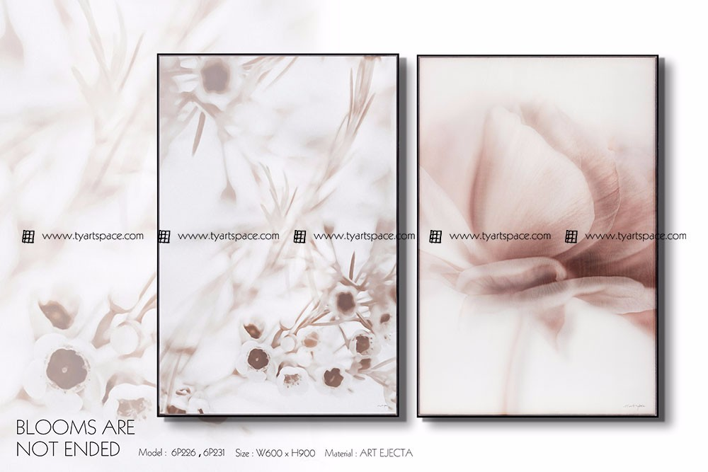 Modern wall art chinese paintings silk printing pictures for fabric painting flower