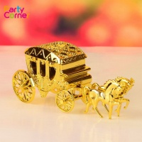 Romantic Wedding Candy Boxes Cinderella Carriage Candy Bags Wedding Holder Favor Gift Box