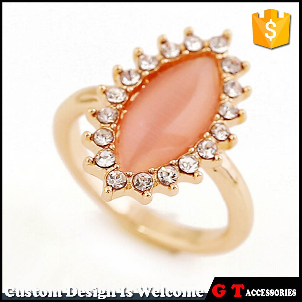 New Style Gold Finger Ring Design For Women,China Jewelry ...
