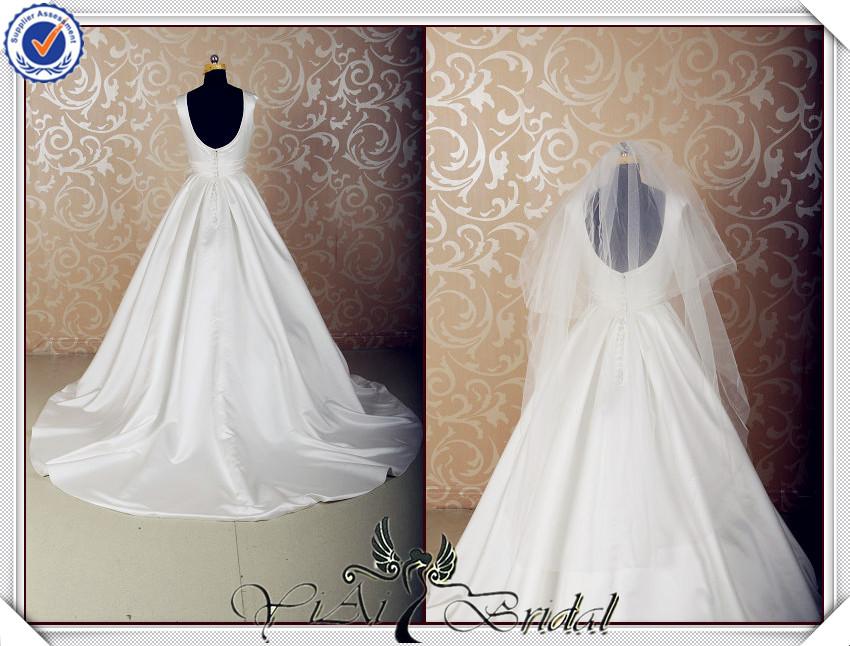 Jj3577 Realen Probe Satin Slip Türkische Hochzeit Kleider Designer ...
